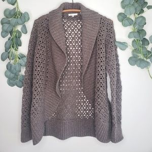 Vince Shawl Neck Wool Cardigan Sweater | L | NWOT